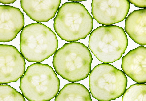 Savor a Slice Of cucumber, that is. Pressed to the roof of your mouth for 90 seconds, it can eliminate bad breath by increasing saliva, experts say.