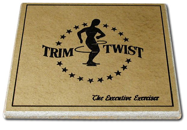 A Trim Twist exerciser, Faded Boomer Fitness Fads