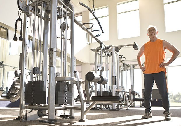 Universal weight machines in a gym, Faded Boomer Fitness Fads