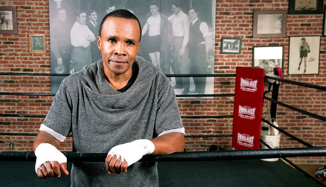 Sugar Ray Leonard, boxer, boxing ring, Personal Best: My Fitness