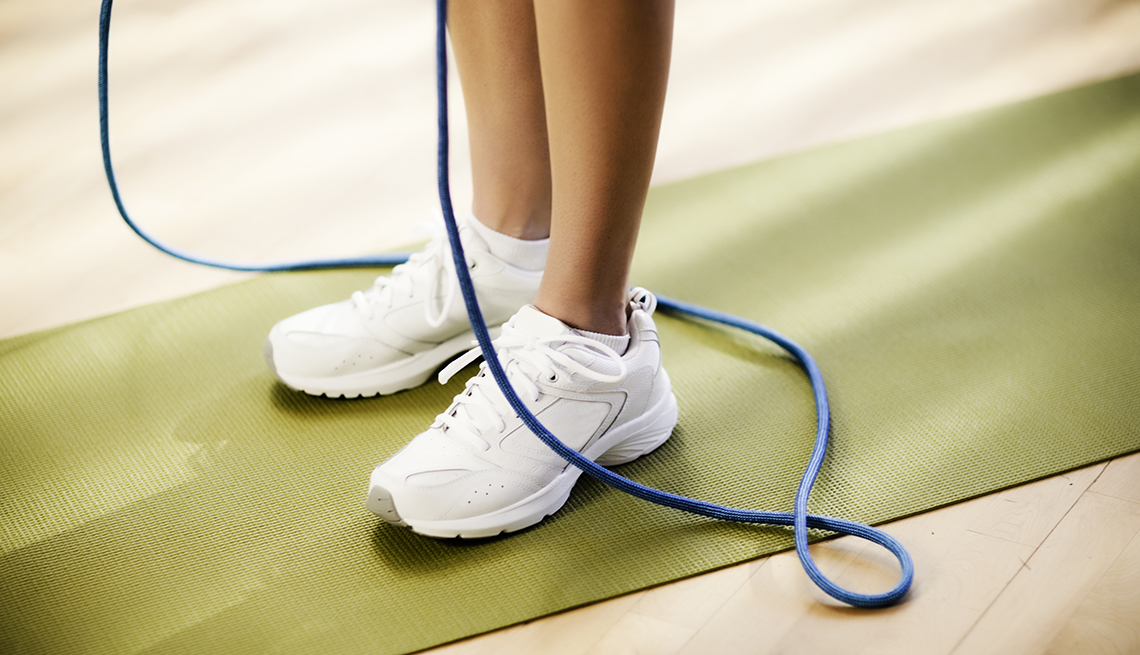 Woman, Jump Rope, Sneakers, Personal Best: My Fitness