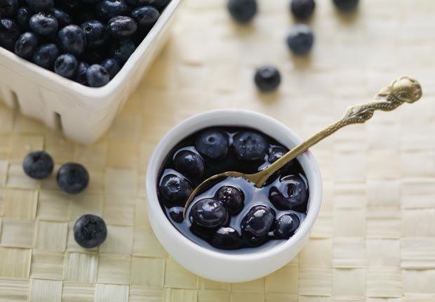 Arándalos - Alimentos para una piel más joven y saludable.