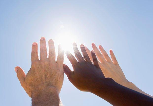 Rayos del sol para la vitamina D - Nutrición para reducir el riesgo de la demencia en la mujer