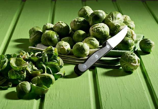 Rollitos de bruselas - 9 alimentos que te ayudan a quemar la grasa