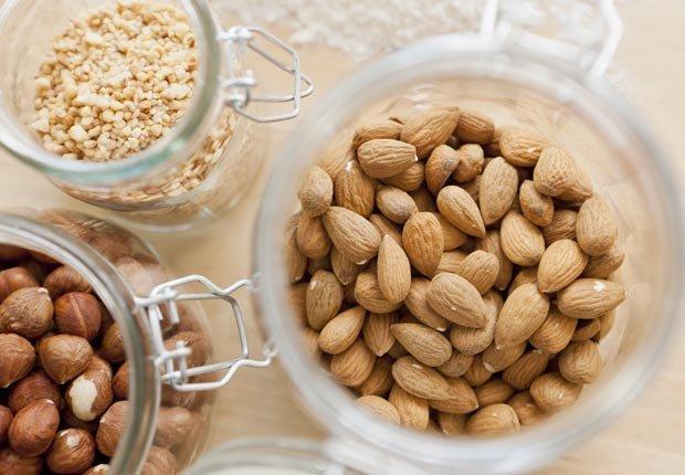 Nueces - Alimentos saludables para su cabello