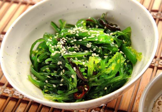 Algas - Alimentos saludables para su cabello