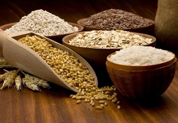 Cereales integrales - Alimentos saludables para su cabello