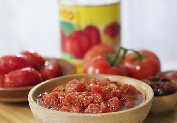 Foods that Fight Prevent Migraine Headache Canned Tomatoes ESP
