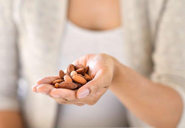 Foods that Fight Prevent Migraine Headache Almonds ESP