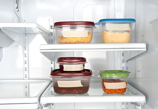 Throw Out Things Leftovers Refrigerator Bacteria Sick ESP