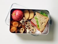 Merienda saludable - Resoluciones saludables para el 2015