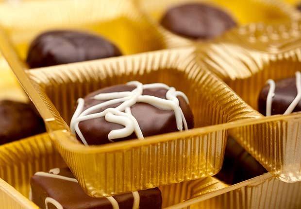 Caja de chocolates - Evita aumentar de peso en Navidad