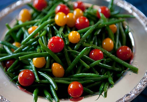 Plato de ensalada - Evita aumentar de peso en Navidad