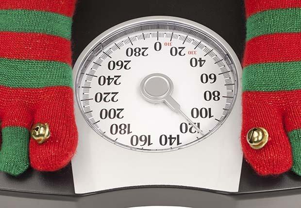 Pies en una balanza - Evita aumentar de peso en Navidad