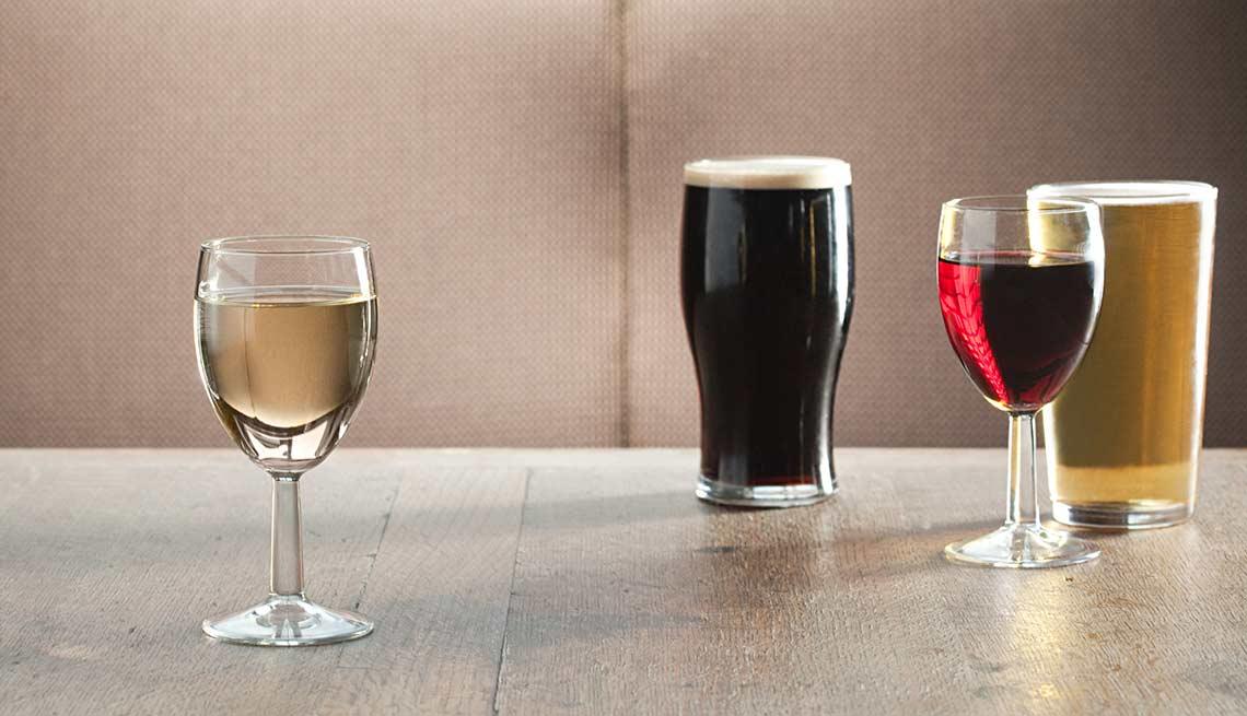 Dietary Guidelines Adults Beer Wine ESP