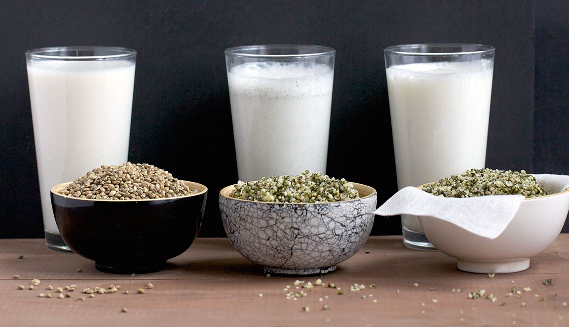 Leche de cáñamo - Alimentos saludables