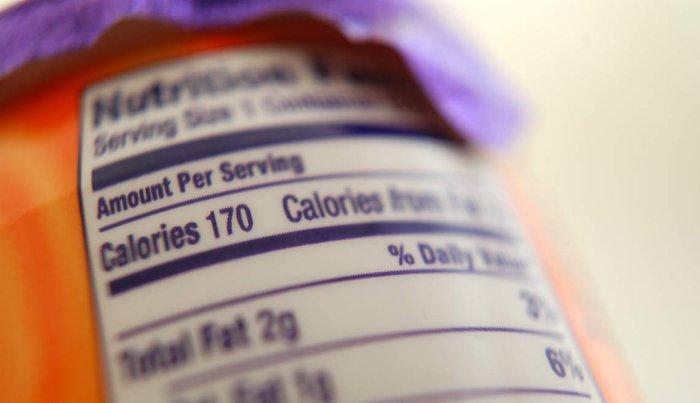 Etiqueta de datos de nutrición - Cómo comer saludable y perder peso