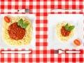 Dos platos con porciones diferentes - Cómo lograr una buena nutrición