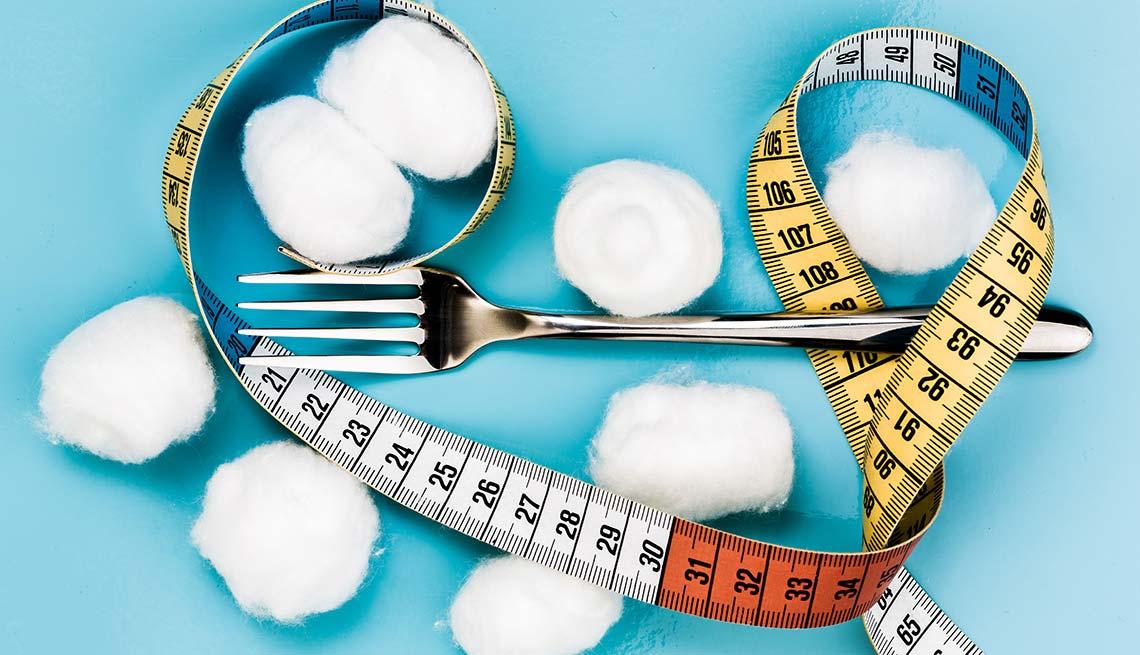 item 7 of Gallery image - Comer algodón - Dietas para adelgazar poco saludables