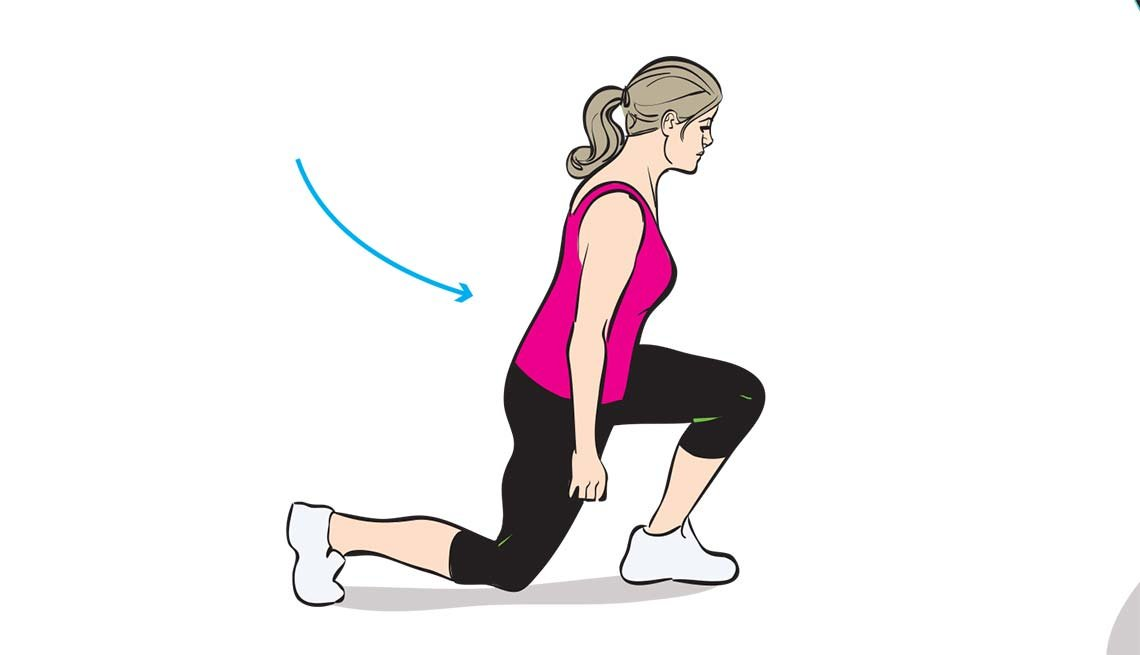 Stay Fit Injury Free Stretches Lunges