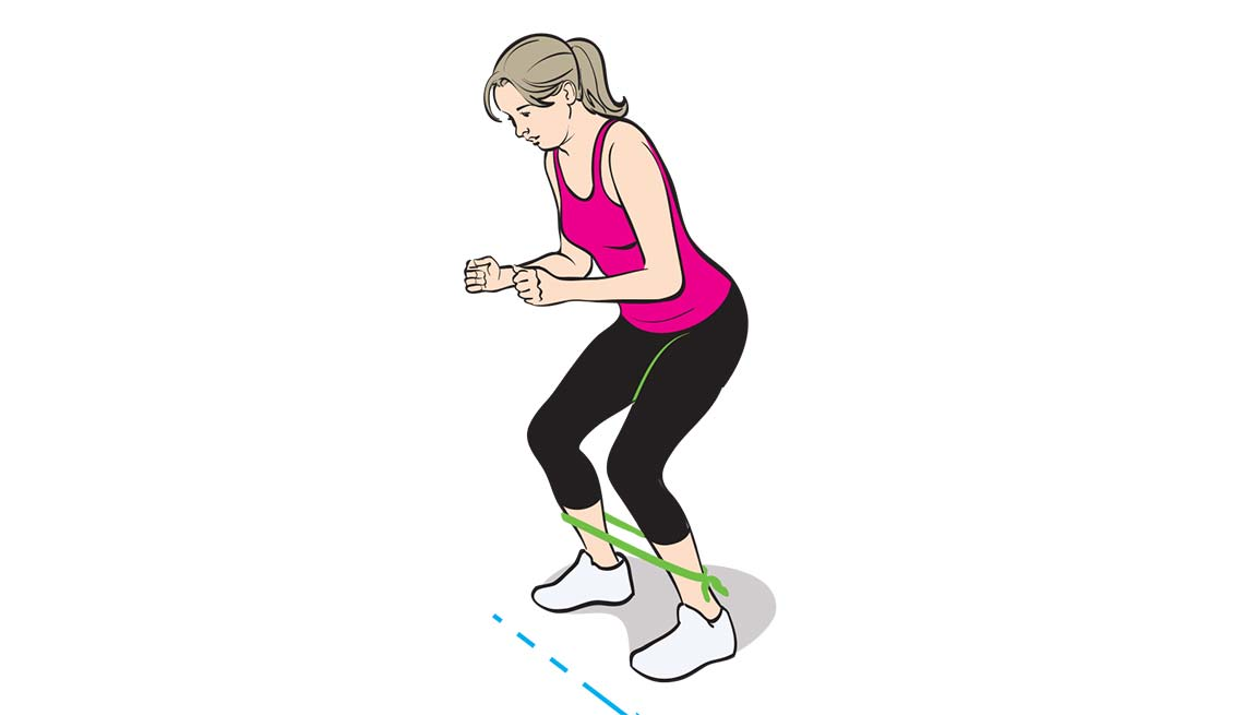 Stay Fit Injury Free Stretches Monster Walk