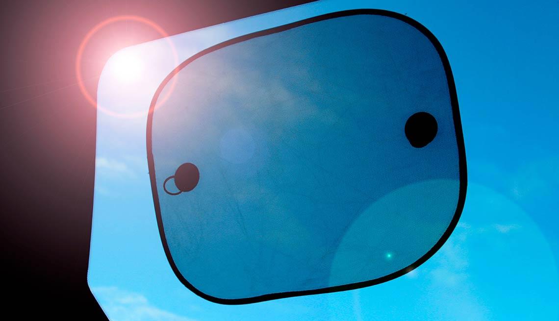 Sombra para ventana de autos