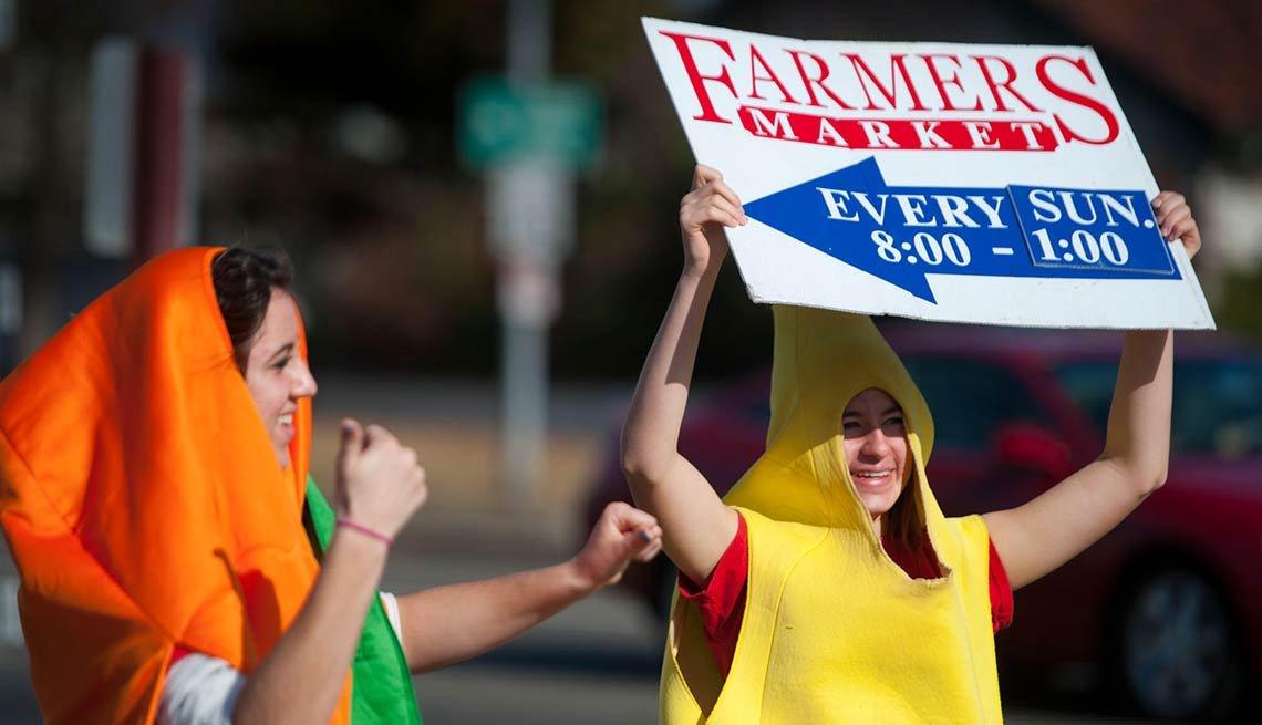 Sacramento - Ciudades asiduas a la comida orgánica