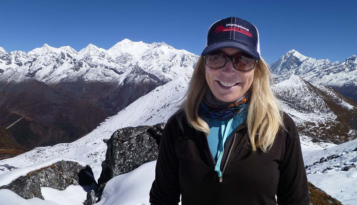 Susan Ershler Mt. Everest Executive Stay Fit Healthy Competition