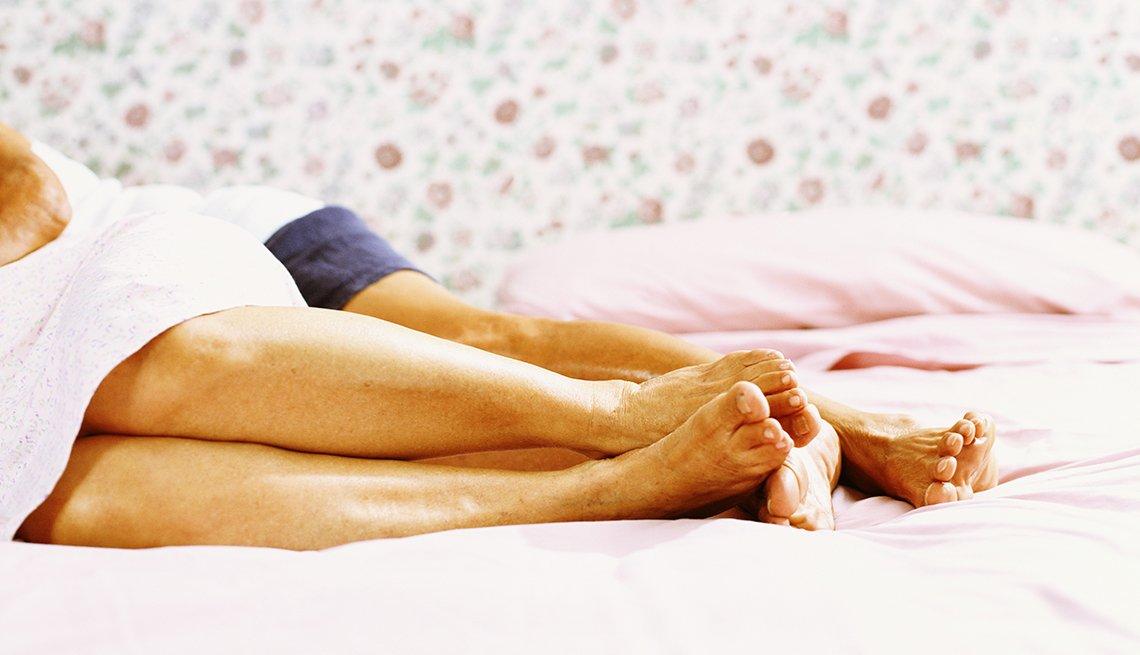 Sex Nursing Home Private Intimate Couple Legs