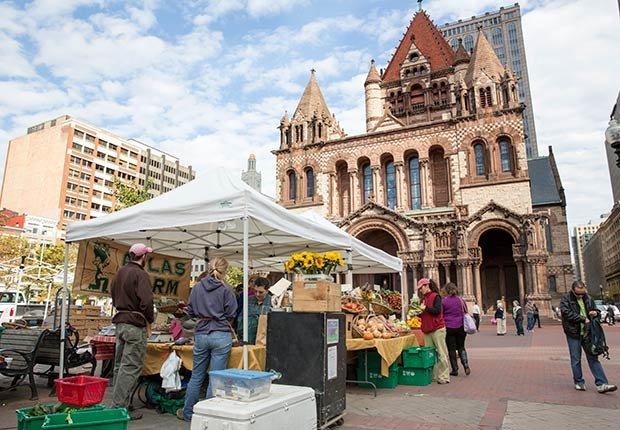 Boston - Ciudades asiduas a la comida orgánica