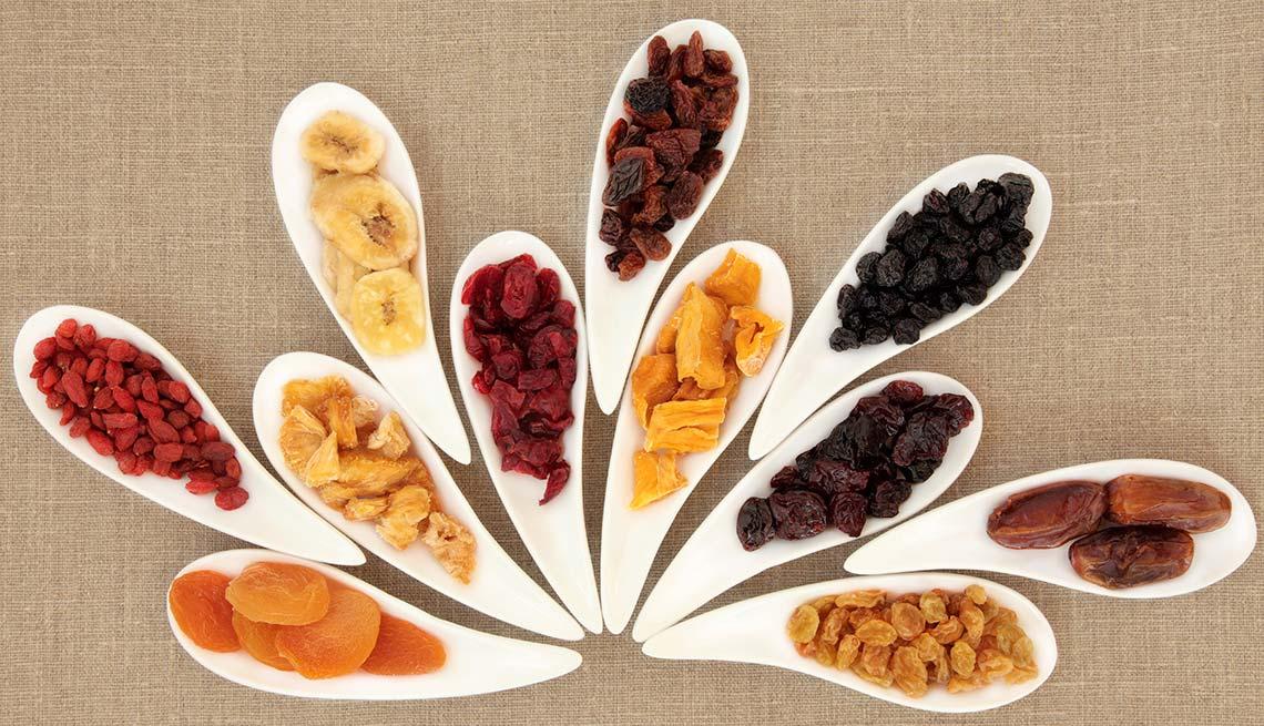item 5 of Gallery image - Variedad de frutas secas
