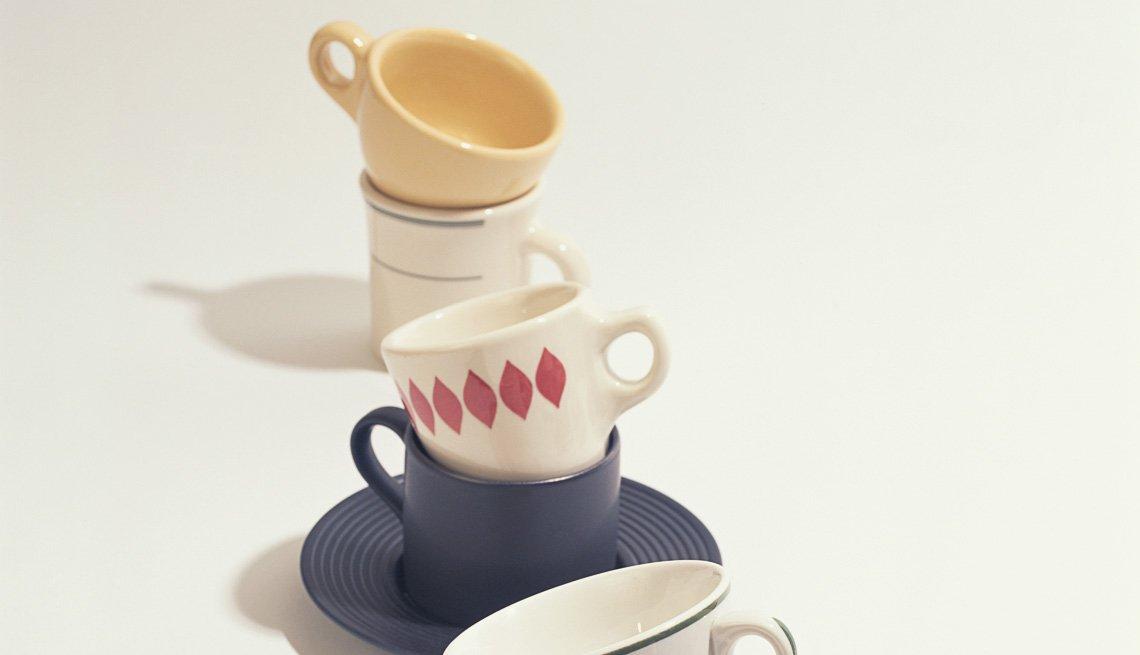 Tazas de café - Alimentos que mejoran la visión