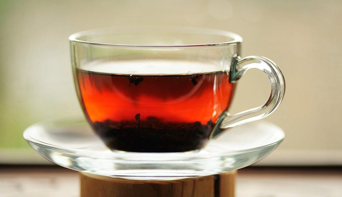Te negro - Alimentos que reducen el estrés