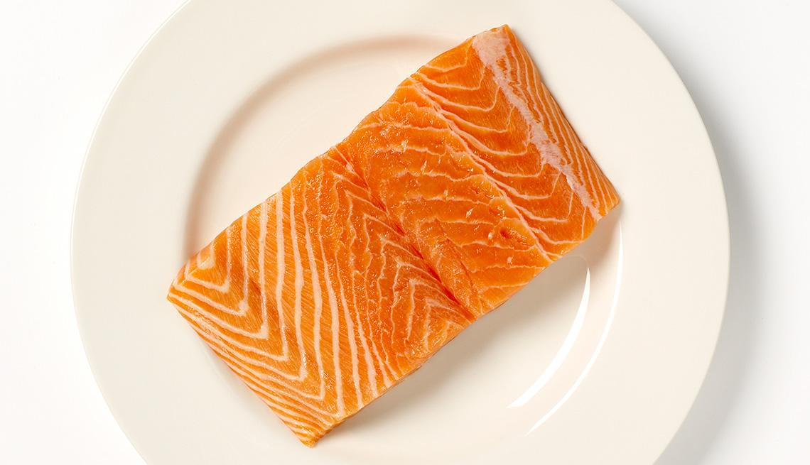 item 8 of Gallery image - Salmon - Alimentos que reducen el estrés