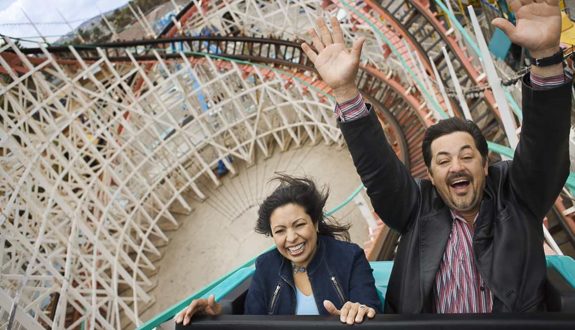 Couple Having Fun On a Rollercoaster, How to Increase Libido