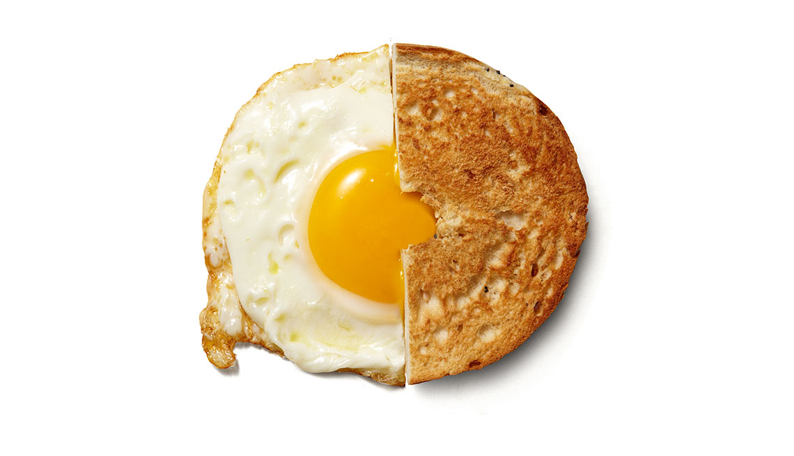 Bagel and egg