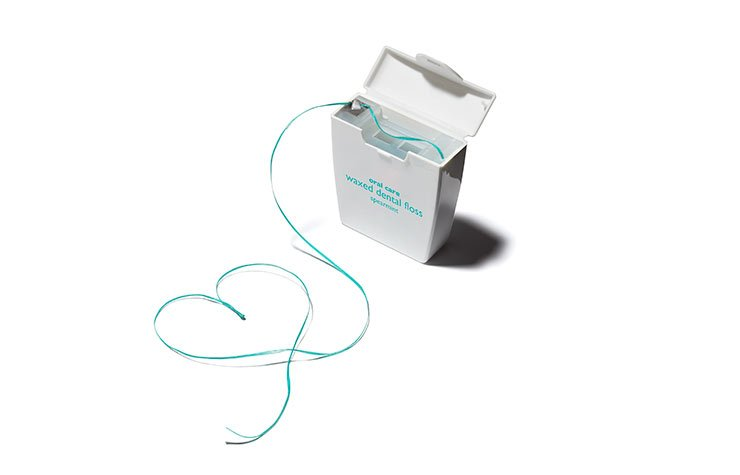 Dental Floss, Heart Disease preventiuon, floss once per dayt