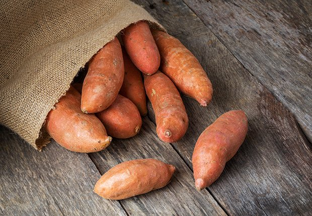 Sweet Potatoes, Foods That Reduce Stress