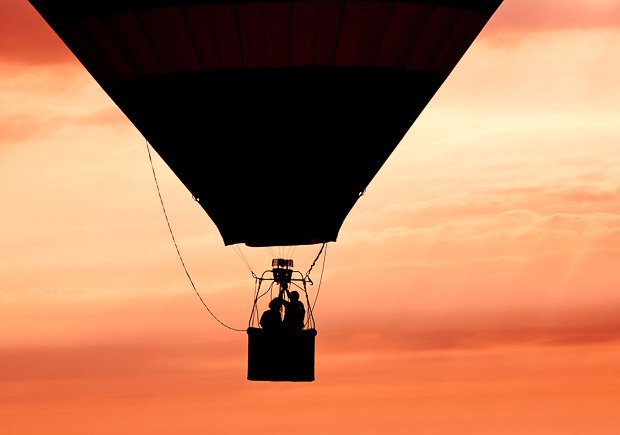 Couple Inside a Hot Air Baloon at Sunset, How to Increase Libido