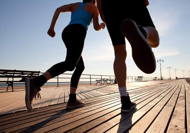 Couple Running, How to Increase Libido