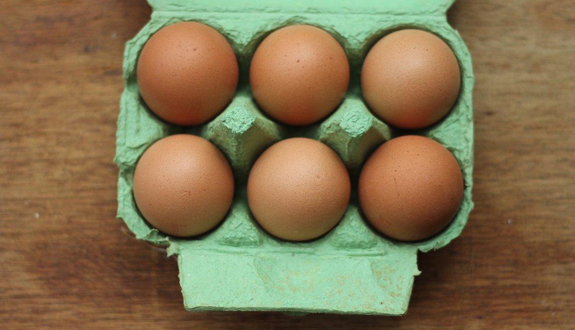 Huevos en su empaque