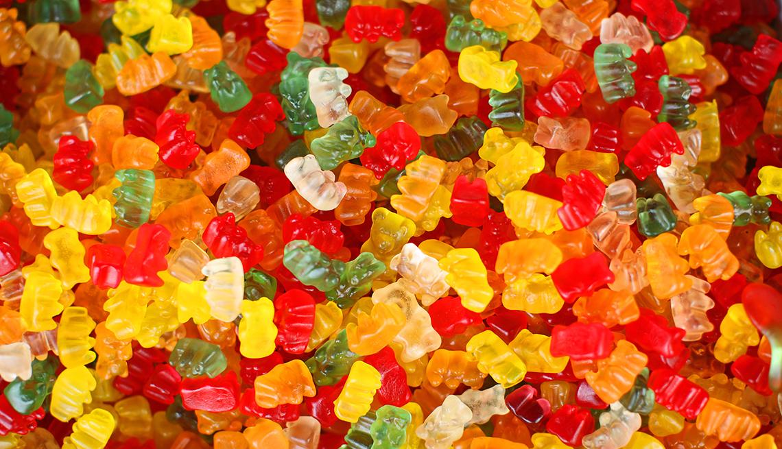 Caramelos de gelatina