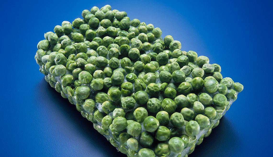 Frozen Block of Peas