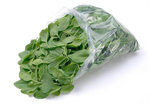 Espinacas - Alimentos que puedes donar