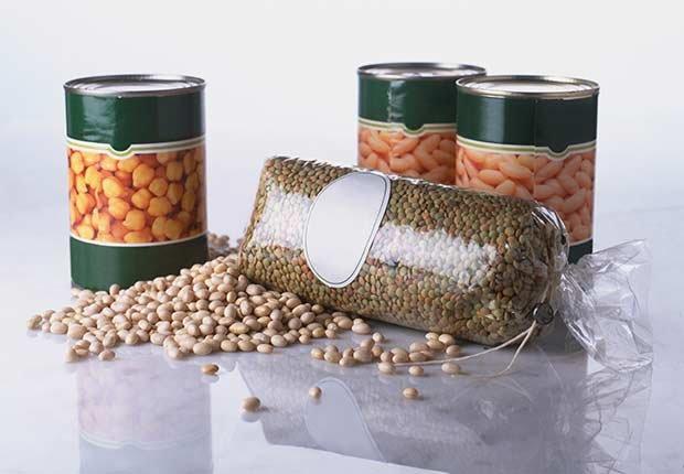 Granos enlatados - Alimentos que puedes donar