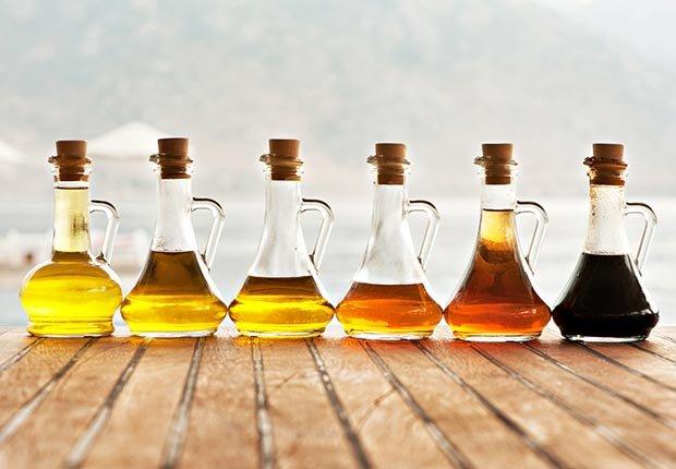 Botellas de aceite - Alimentos que puedes donar