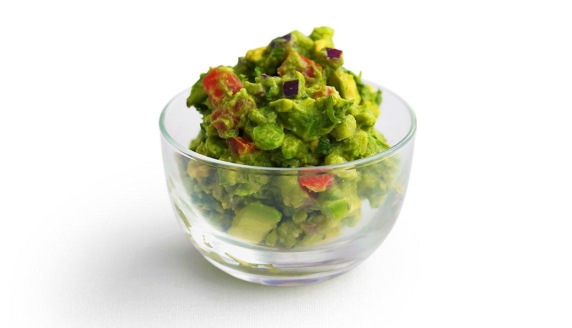 Envase con ensalada verde