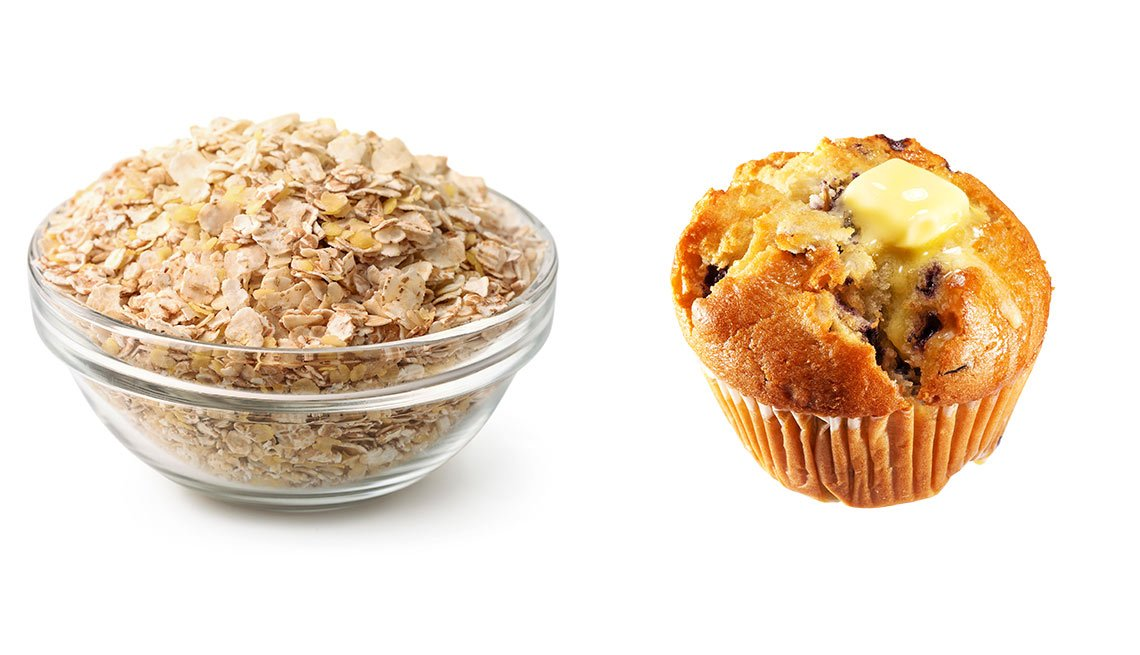 Cereal versus muffin