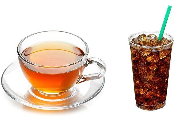 Te versus soda