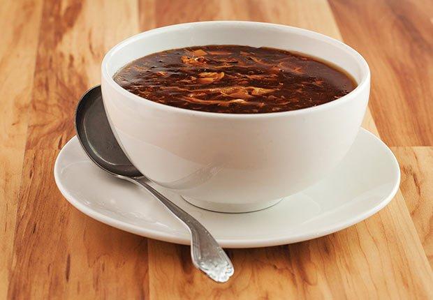 Sopa picante y agria